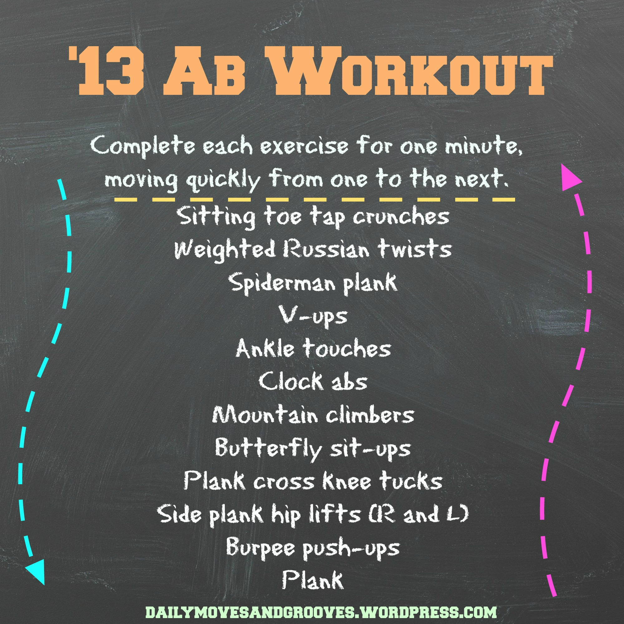 Its All About Perspective Ab Workout