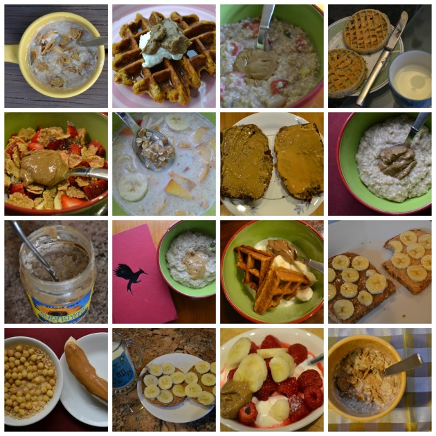 breakfasts collage