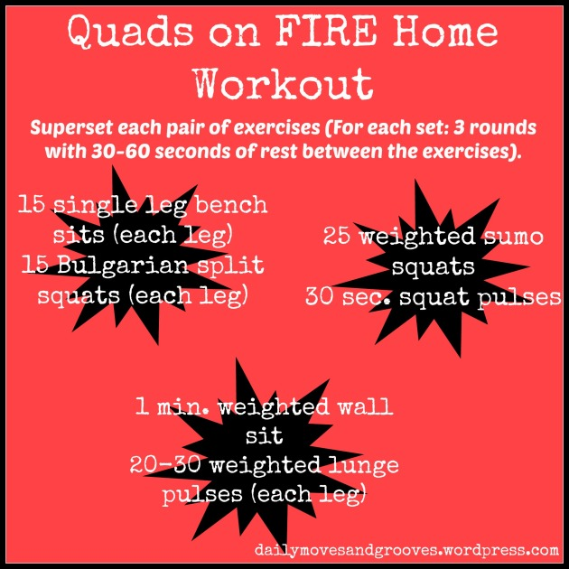 quads on fire home workout