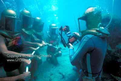 Bermuda Helmet Diving