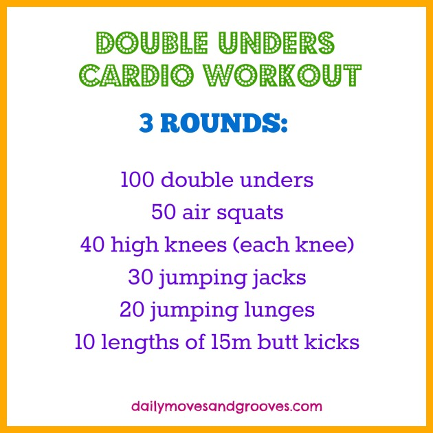double unders cardio workout