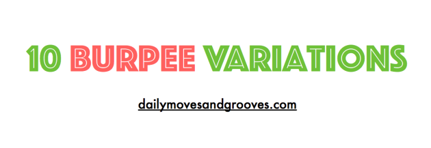10 burpee variations