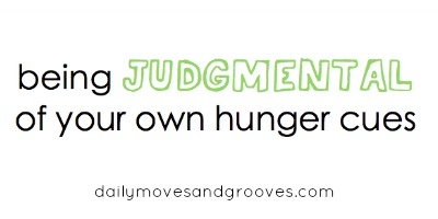 judgmental hunger cues