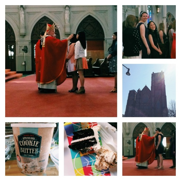 confirmation collage
