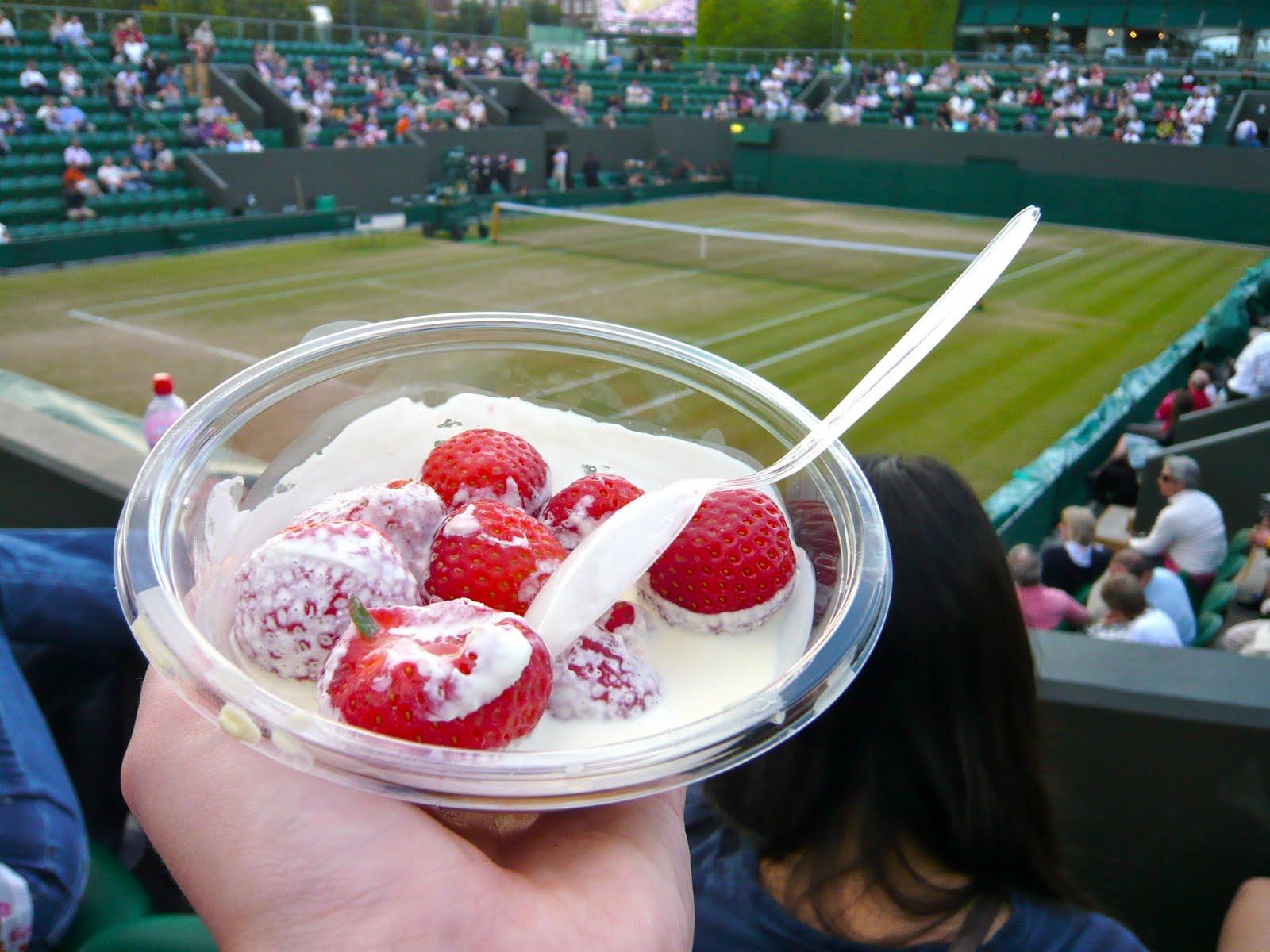 Strawberries and Cream Wimbledon